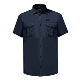 JWS/狼爪 1402271 男款短袖衬衫-Atacama Shirt