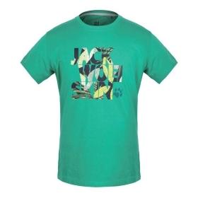 JWS/狼爪 5012011 男款短袖T恤-Leaf T-Shirt Men