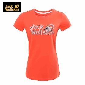 JWS/狼爪 5011941 女款短袖T恤-Toucan Logo T-Shirt Women
