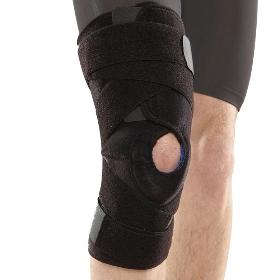 AQ 5057 专业型三枢纽铝合页护膝