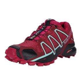 SALOMON/萨洛蒙  393439 女款越野跑鞋-Speedcross 4 W