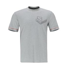 SALOMON/萨洛蒙  392675 男款跑步短袖T恤-Pulse SS Tee M