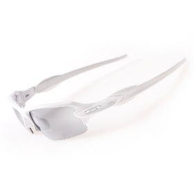 OAKLEY/奥克利 OO9271-16 运动太阳眼镜-(A) Flak 2.0 Pol White w/ Slate Irid