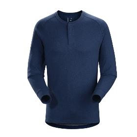 ARCTERYX/始祖鸟 20765 Sirrus LS Henley M 男款速干长袖T恤