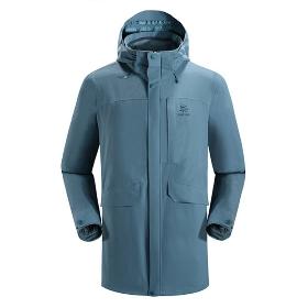 KAILAS/凯乐石 KG110195 男款长款2层冲锋衣