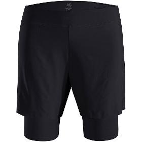 KAILAS/凯乐石 KG510328 男款跑步二合一短裤(平脚内裤)