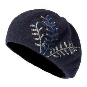 KENMONT/卡蒙 KM-9195 针织蓓蕾帽