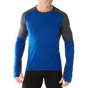 SMARTWOOL SW014013 PhD功能性男士运动保暖长袖衫-轻量型