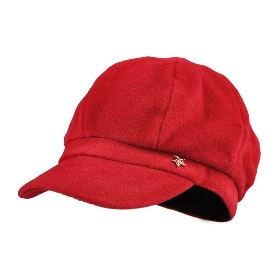 KENMONT/卡蒙 KM-2562 毛呢蓓蕾帽