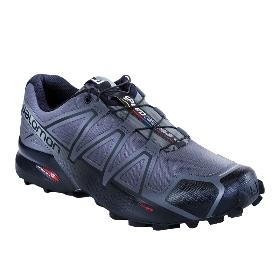 SALOMON/萨洛蒙 402599 男款越野跑鞋-Speedcross 4 Wide M