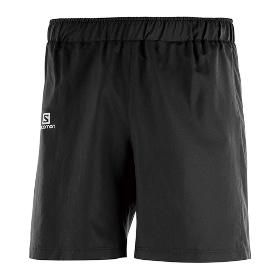 SALOMON/萨洛蒙 402181 男款跑步短裤-Jp Agile Overshort M