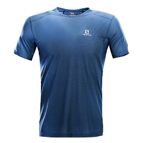 SALOMON/萨洛蒙 400995 男款跑步短袖T恤-Trail Runner SS Tee M【2018年春夏新款】