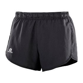 SALOMON/萨洛蒙 401281 女款跑步短裤-Agile Short W【2018年春夏新款】