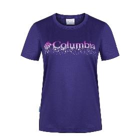 COLUMBIA/哥伦比亚 PL2793(178554) 女款短袖T恤【2018年春夏新款】