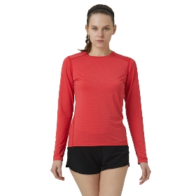 SANFO PLUS STW-18047 女款花火跑步长袖T恤衫-Sparkle Running LS Tee W