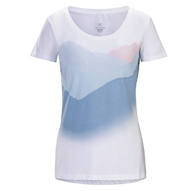 ARCTERYX/始祖鸟  21033 Amidst SS T-Shirt W 女款棉短袖T恤【2018年春夏新款】