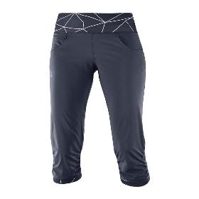 SALOMON/萨洛蒙 400665 女款跑步中裤-Elevate Capri Pant W