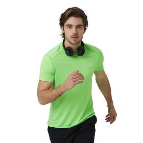 SANFO PLUS STM-18042 男款花火跑步短袖T恤衫-Sparkle Running SS Tee M