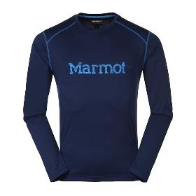 MARMOT/土拨鼠 男款户外轻量透气长袖速干T恤 S54310 【2018年春夏新款】