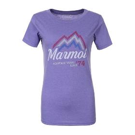 MARMOT/土拨鼠 女款户外轻薄透气速干短袖棉T恤 S43880