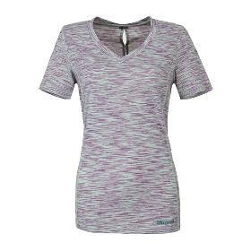 MARMOT/土拨鼠 女款吸湿排汗速干透气V领短袖T恤 S48420