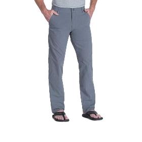 KUHL 男款日常休闲户外运动舒适防风耐久多口袋棉质长裤 Slax 5090