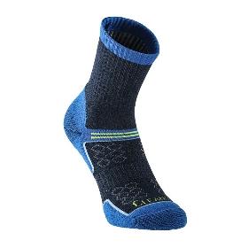 UTO/悠途 男女户外徒步登山运动袜排汗速干银离子袜两双装 961110