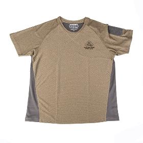 MAGFORCE/麦格霍斯  中性款速干双色拼接T恤夏季运动训练服  C0112