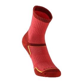 UTO/悠途  女款户外运动袜徒步袜子银离子袜排汗速干袜2双装  961210