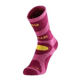 UTO/悠途  女款户外运动袜高寒登山袜运动跑步袜子排汗速干袜  961211