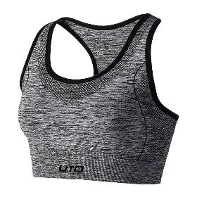 UTO/悠途  女跑步健身瑜伽支撑防震无痕无钢圈中强度运动文胸  964205