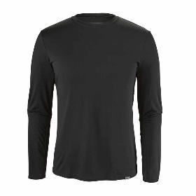 PATAGONIA/巴塔哥尼亚  男式户外化纤内衣长袖T恤  45261【2018年春夏新款】