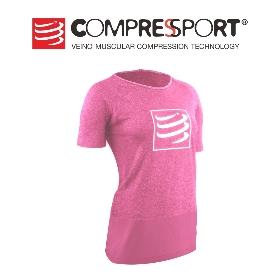 COMPRESSPORT  TSTNW-SS 女款运动员训练T恤